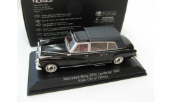 Mercedes-Benz 300 D Landaulet City of Vatican 1960 г. SALE!