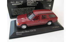 Mercedes-Benz 320TE Red Metallic 1990 г. RARE!