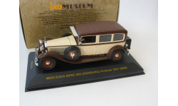 MERCEDES-BENZ 460 NÜRBURG Pullman (W08) Beige and Brown 1931 г. Редкая Музейка!