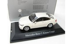 Mercedes-Benz C-Class coupe diamond white SALE!, масштабная модель, 1:43, 1/43, Norev