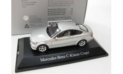 Mercedes-Benz C-Class coupe iridium silver SALE!, масштабная модель, 1:43, 1/43, Norev