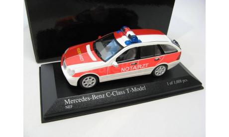 Mercedes-Benz C-Class T-Model 2001 NEF, масштабная модель, scale43, Minichamps