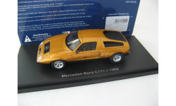 Mercedes-Benz C111-I 1969 bronze metallic, масштабная модель, 1:43, 1/43, Best оf Show