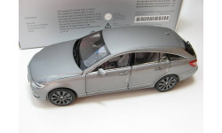 Mercedes-Benz CLS-Class Shooting Brake alanite gray 2012 г., масштабная модель, scale18, Norev
