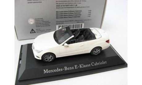 Mercedes-Benz E-Class Cabriolet (C207) diamant white SALE!, масштабная модель, 1:43, 1/43, Kyosho