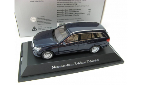 Mercedes-Benz E-Class T-Model S212 cavansit blue metallic SALE!, масштабная модель, 1:43, 1/43, Kyosho