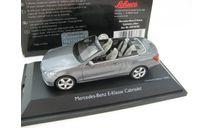 Mercedes-Benz E-Сlass Cabriolet silver. Редкий Шуко!, масштабная модель, scale43, Schuco