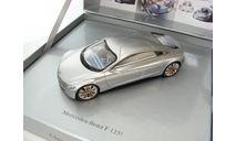 Mercedes-Benz F 125 silver, масштабная модель, 1:43, 1/43, Spark