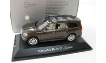 Mercedes-Benz GL-Class braun metallic, масштабная модель, scale43, Norev