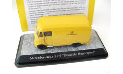 Mercedes-Benz L319 'Deutsche Post', масштабная модель, Premium Classixxs, scale43