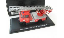 Mercedes-Benz L319 Feuerwehr mit Drehleiter DL18 Редкий Шуко!