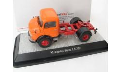 Mercedes-Benz LS 322, orange tractor truck