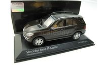 Mercedes-Benz M-class Brown metallic 2011 г., масштабная модель, 1:43, 1/43, Minichamps