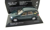MERCEDES-BENZ M-Class Green metallic 2005 г., масштабная модель, Minichamps, scale43