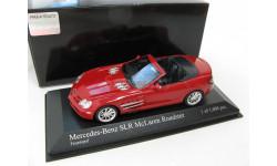 Mercedes-Benz SLR McLaren Roadster Red 2007 г., масштабная модель, 1:43, 1/43, Minichamps