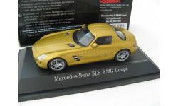 Mercedes-Benz SLS AMG Coupe C197 gold metallic 2009 г. Редкий Шуко!