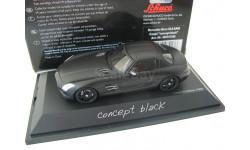 Mercedes-Benz SLS AMG Coupe Concept Black. Редкий Шуко!, масштабная модель, Schuco, scale43