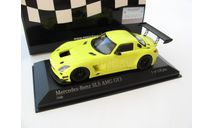 Mercedes-Benz SLS AMG GT3 2011 yellow, масштабная модель, 1:43, 1/43, Minichamps