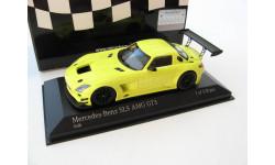 Mercedes-Benz SLS AMG GT3 2011 yellow