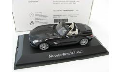 Mercedes-Benz SLS AMG Roadster obsidian black SALE!, масштабная модель, 1:43, 1/43, Schuco