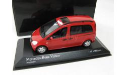 Mercedes-Benz Vaneo (W414) 2001 red