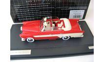 Mercedes Ghia MB 300C Allungata Cabriolet 1956 red/beige, масштабная модель, 1:43, 1/43, Matrix, Mercedes-Benz