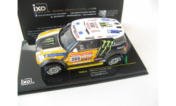 Mini All 4 Racing #305 Rally Dakar 2012 Roma/Perin, масштабная модель, IXO Rally (серии RAC, RAM), scale43