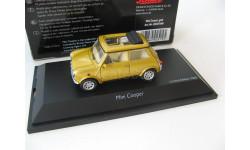 Mini Cooper gold