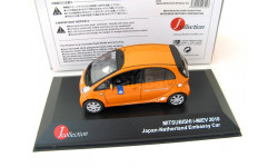 Mitsubishi i-MiEV Japan Netherland Embassy Car 2010 orange. SALE!