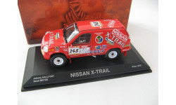 Nissan X-Trail Dakar Hallyday / Metge 2002 #245, масштабная модель, Norev, scale43