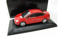 Opel Astra 4-door red 2012 г.