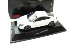 "Opel GTC Concept ""Сoncept white"" 2008 г. Редкий Шуко!, масштабная модель, 1:43, 1/43, Schuco"