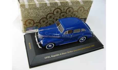 OPEL Kapitän 4-Door Sedan Blue / Beige interiors 1950 г. SALE!, масштабная модель, 1:43, 1/43, IXO Museum (серия MUS)