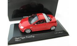 Opel Tigra TwinTop 2004 red, масштабная модель, 1:43, 1/43, Minichamps