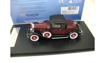 Packard 902 Standart Eight Coupe 1932 dark red/black SALE!, масштабная модель, 1:43, 1/43, Neo Scale Models
