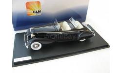 Packard Twelve Model 1108 LeBaron Sport Phaeton 1931 dark blue, масштабная модель, 1:43, 1/43, GLM