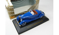 PACKARD V12 LeBARON Speedster Blue 1934 г. SALE!, масштабная модель, 1:43, 1/43, IXO Museum (серия MUS)