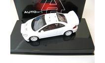 Peugeot 307 WRC plain body version (white) RARE!, масштабная модель, Autoart, scale43