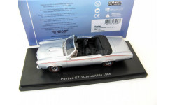 Pontiac GTO Convertible 1966 metallic grey, масштабная модель, 1:43, 1/43, Neo Scale Models