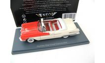 PONTIAC STAR CHIEF Convertible 1956 Red/White., масштабная модель, scale43, Neo Scale Models
