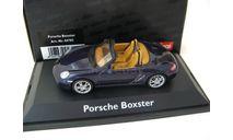 Porsche Boxster dark blue Редкий Шуко!, масштабная модель, 1:43, 1/43, Schuco