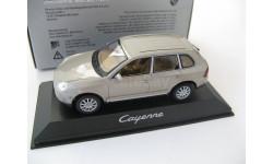 Porsche Cayenne beige, масштабная модель, Minichamps, scale43