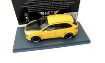 Porsche Cayenne Hamann Guardian 2011 yellow/carbon, масштабная модель, Neo Scale Models, scale43