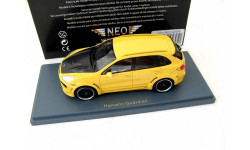 Porsche Cayenne Hamann Guardian 2011 yellow/carbon