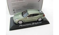 Porsche Panamera S Hybrid light green metallic