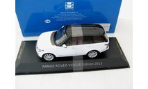 RANGE ROVER VOGUE 2013 White & Black, масштабная модель, 1:43, 1/43, Premium X