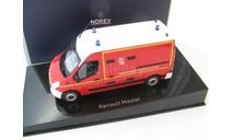 Renault Master 'Pompiers VSAV' 2011, масштабная модель, scale43, Norev