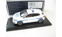 Renault Megane Police Municipale 2016 White, масштабная модель, Norev, scale43