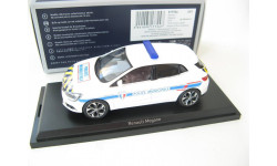 Renault Megane Police Municipale 2016 white with yellow-blue strip