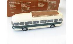 Автобус Saviem SC1 beige and green 1961 г.